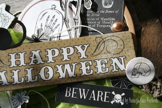 Happy Halloween altered 4 NC